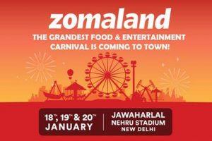 Zomaland: Zomato feast for food lovers comes to Delhi