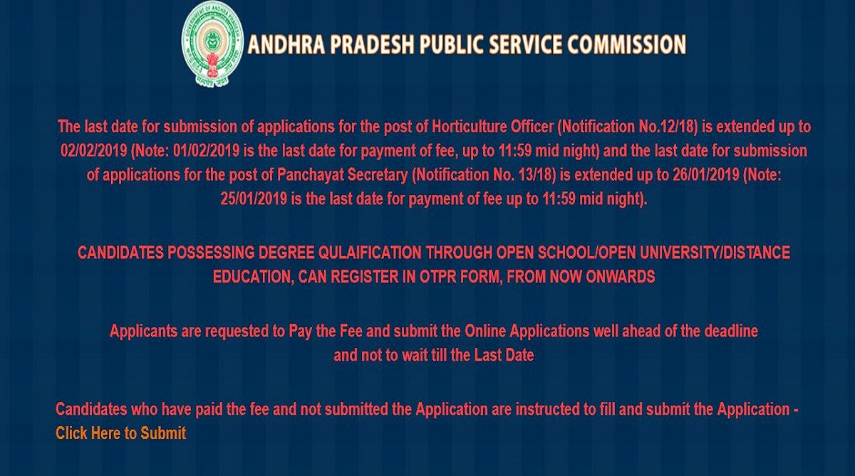 APPSC Panchayat Secretary recruitment, Andhra Pradesh Public Service Commission, APPSC recruitment, Panchayat Secretary posts, psc.ap.gov.in