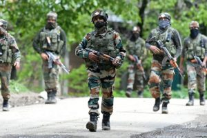 Three terrorists killed in Baramulla encounter