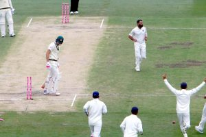 4th Test: Australia on back foot at tea vs India on Day 4, trail by 316 in 2nd knock
