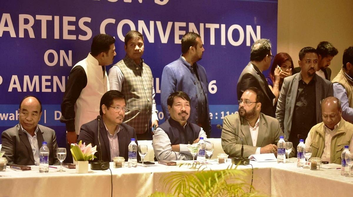 Citizenship Bill, Citizenship (Amendment) Bill 2016, Conrad Sangma, Prime Minister Narendra Modi, President Ram Nath Kovind, North East Democratic Alliance