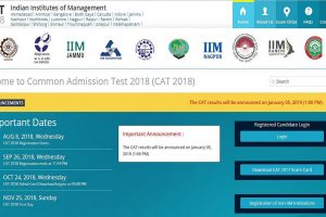 CAT 2018: Results to be declared on January 5 at iimcat.ac.in