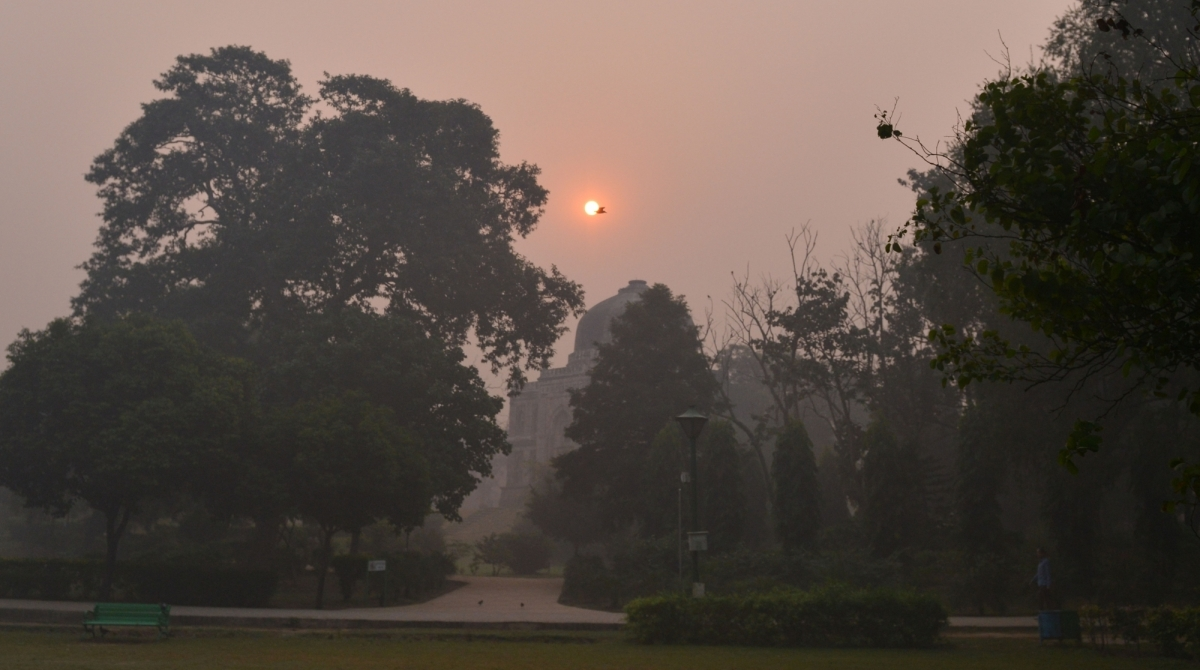 Delhi, Air Quality Index , India Meteorological Department, misty morning