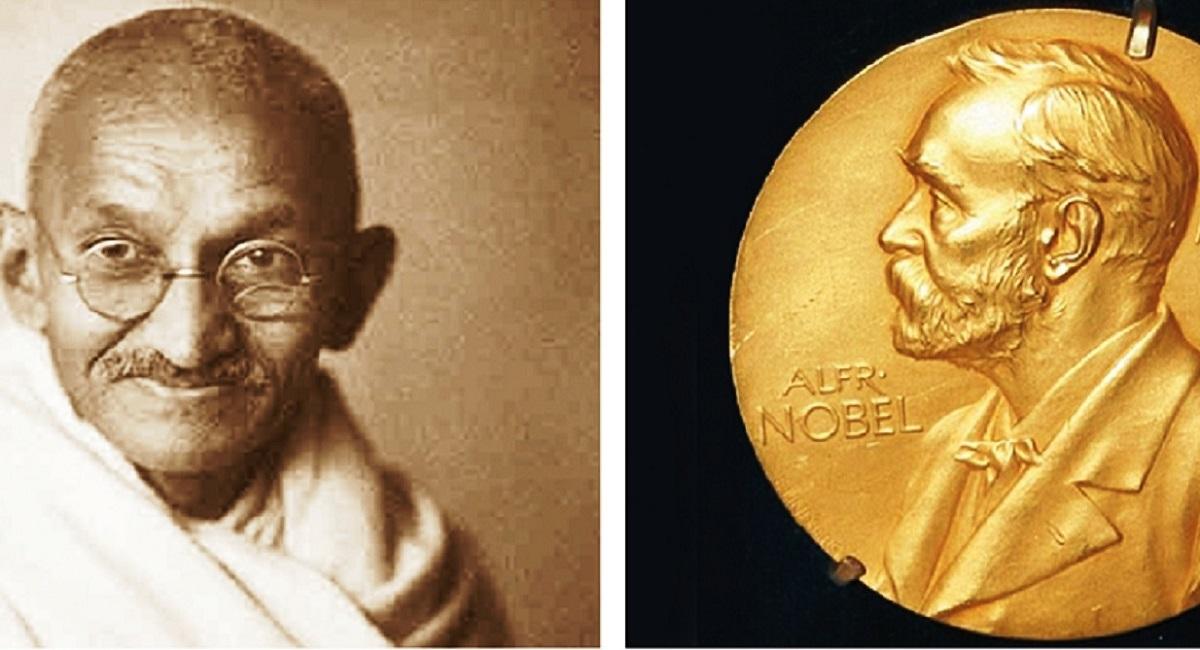 Gandhi and the elusive Nobel