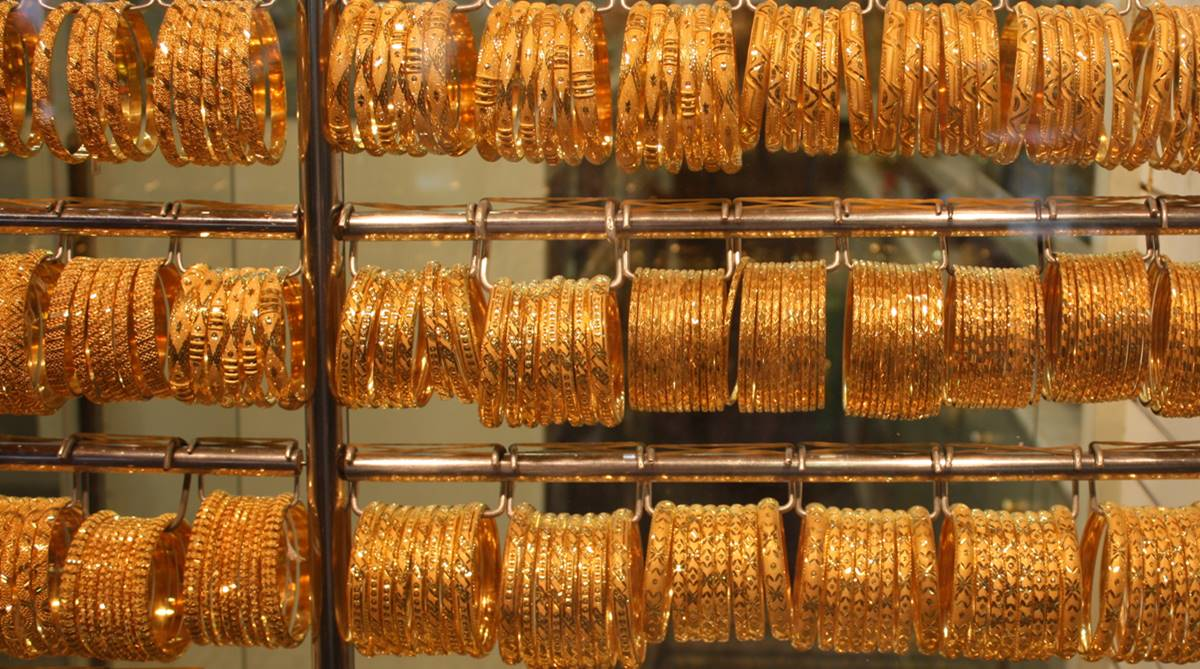 Gold prices up Rs 26 in futures trade on steady demand