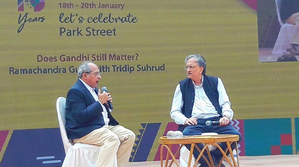 Jawaharlal Nehru, Sardar Patel, Ramachandra Guha, Mahatma Gandhi, Apeejay Kolkata Literary Festival