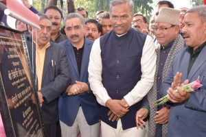 Foundation stone laid for 100 bed district hospital in Dehradun