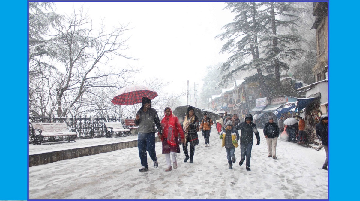 Heavy snowfall in Himachal, Shimla, Kufri, Narkanda, Himachal Pradesh, Manali, Kullu district, Lahaul Spiti, Cold wave like conditions, Rohtang Pass