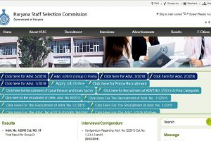 HSSC recruitment: Group D results declared at hssc.gov.in, check PDF link here