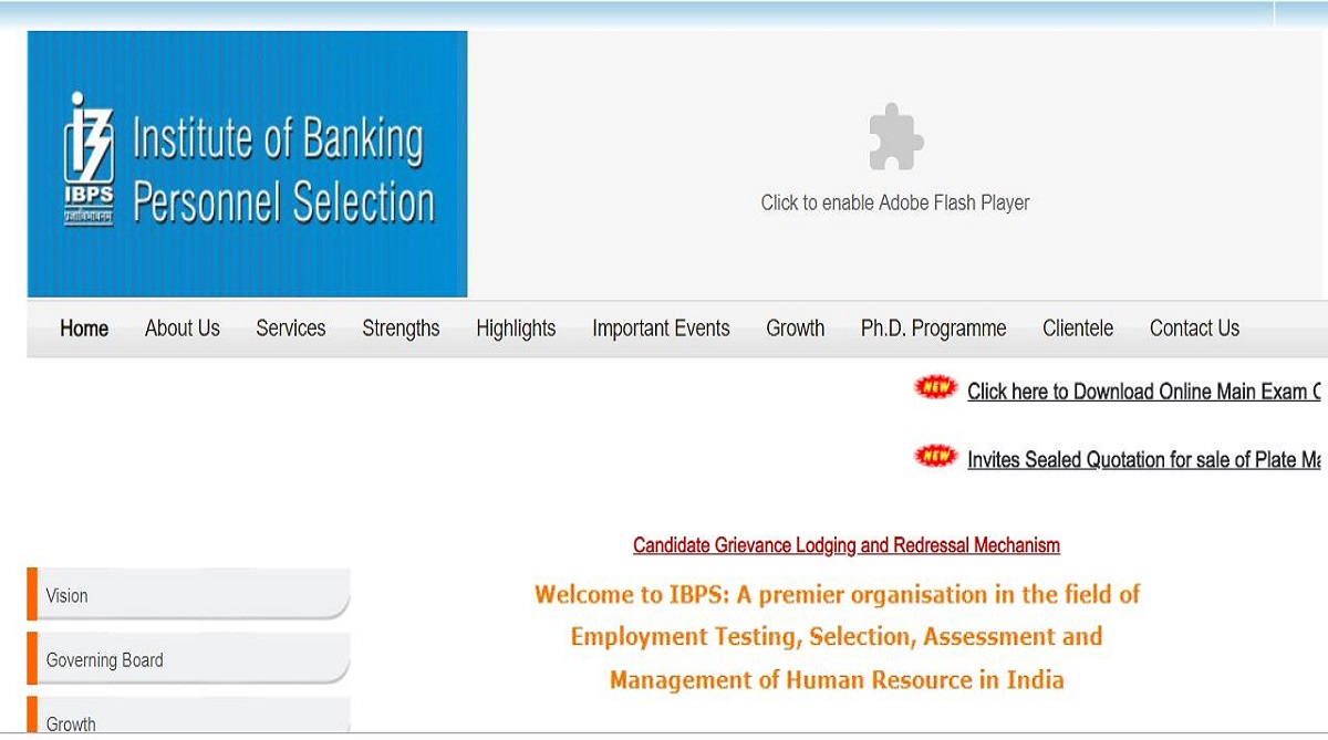 IBPS Clerk Main admit cards released at ibps.in | Check all details here