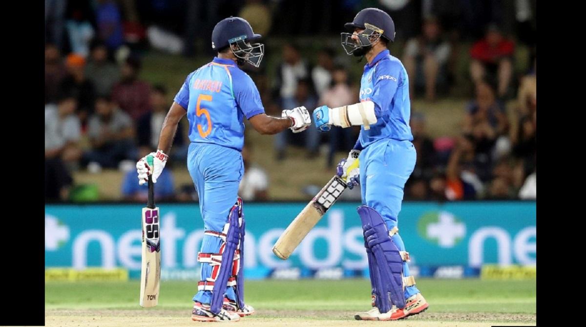 India vs New Zealand, Rohit Sharma, Virat Kohli, Mahendra Singh Dhoni, Ambati Rayudu, Dinesh Karthik, Mohammed Shami, Bhuvneshwar Kumar, Hardik Pandya, Yuzvendra Chahal