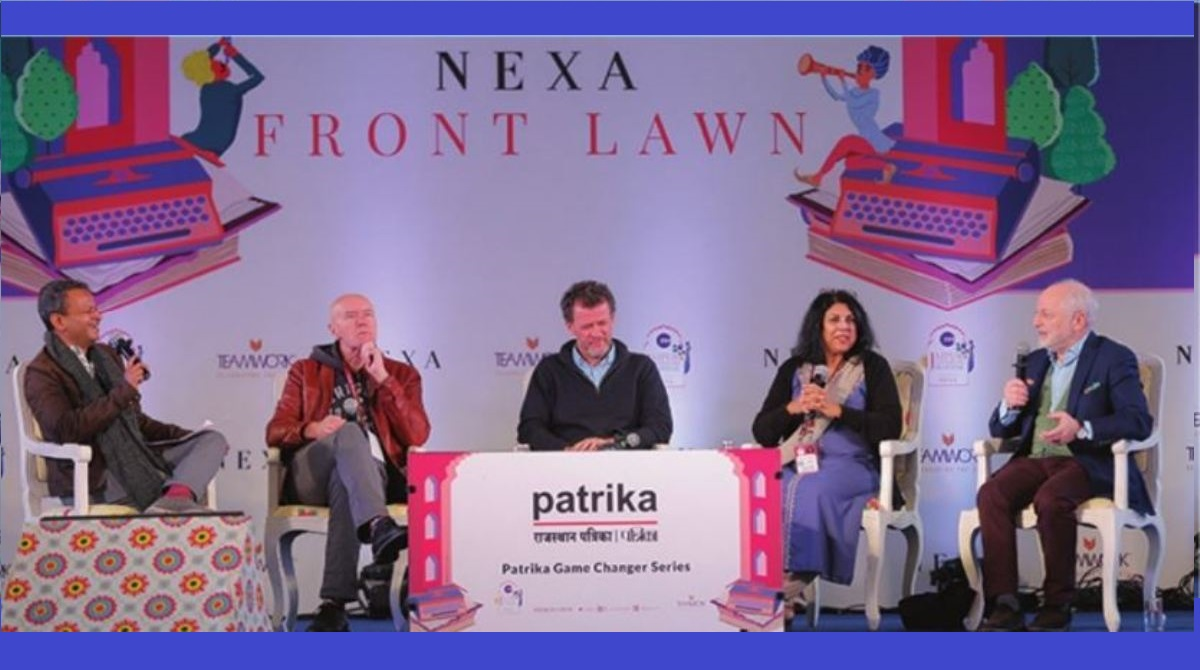 Panel Discussions at Jaipur Literature Festival touched burning issues