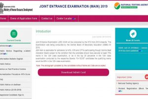 JEE Main 2019 answer keys to be released soon at jeemain.nic.in | Check steps to download here
