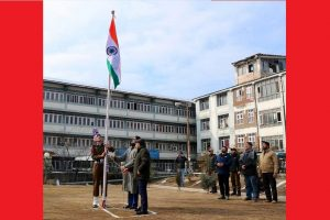 Indian flag hoisted for first time in Srinagar MC complex; Indian, Chinese armies celebrate Republic Day