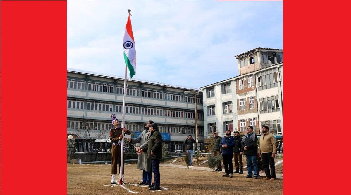Republic Day celebrations, Srinagar Municipal Corporation, Mayor Junaid Azim Muttu, Srinagar, Satya Pal Malik, Indian Army