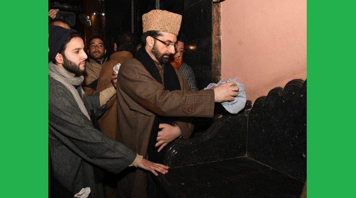 Mirwaiz purifies Jamia Masjid pulpit, ISIS supporters, Mirwaiz Umar Farooq, Srinagar's Jamia Masjid, Mirwaiz Manzil, Jamia Masjid, Awami Action Committee, Hurriyat Conference, Youm-e-Taqaddus