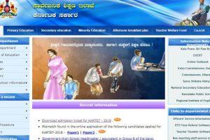 Karnataka TET Hall Ticket 2019 released at  schooleducation.kar.nic.in | Direct link here