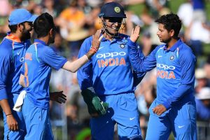India vs Australia: Kuldeep Yadav in awe of MS Dhoni's lightening fast stumpings