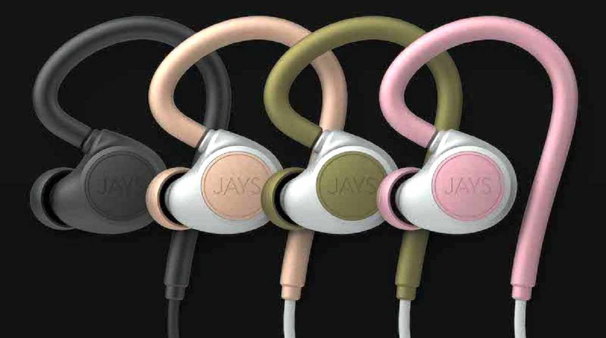 JAYS releases earphones with skin-tight fit m-Six Wireless