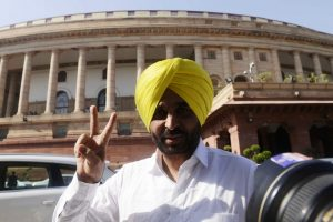 Bhagwant Mann back as Aam Aadmi Party's Punjab Chief