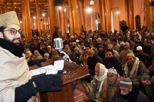 Mirwaiz Umar Farooq led Hurriyat Conference mocks Mehbooba Mufti over Jamia Masjid 'rage'