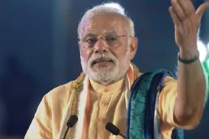 PM Modi calls 'grand alliance' a coalition of dynasts, corruption