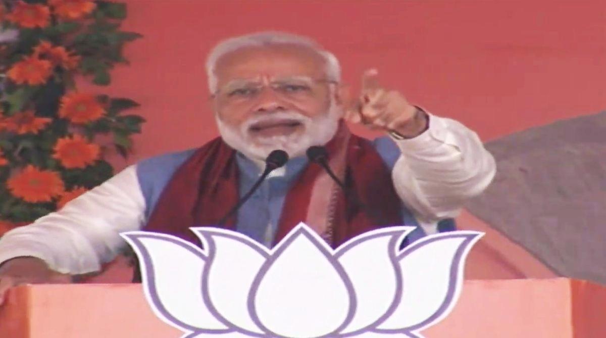 Prime Minister Narendra Modi, Modi rally in Odisha, Bolangir-Bichhupali railway line, Biju Janata Dal government, Multi-Modal Logistics Park, Asurgarh Fort in Kalahandi, Kendriya Vidyalaya Sonepur
