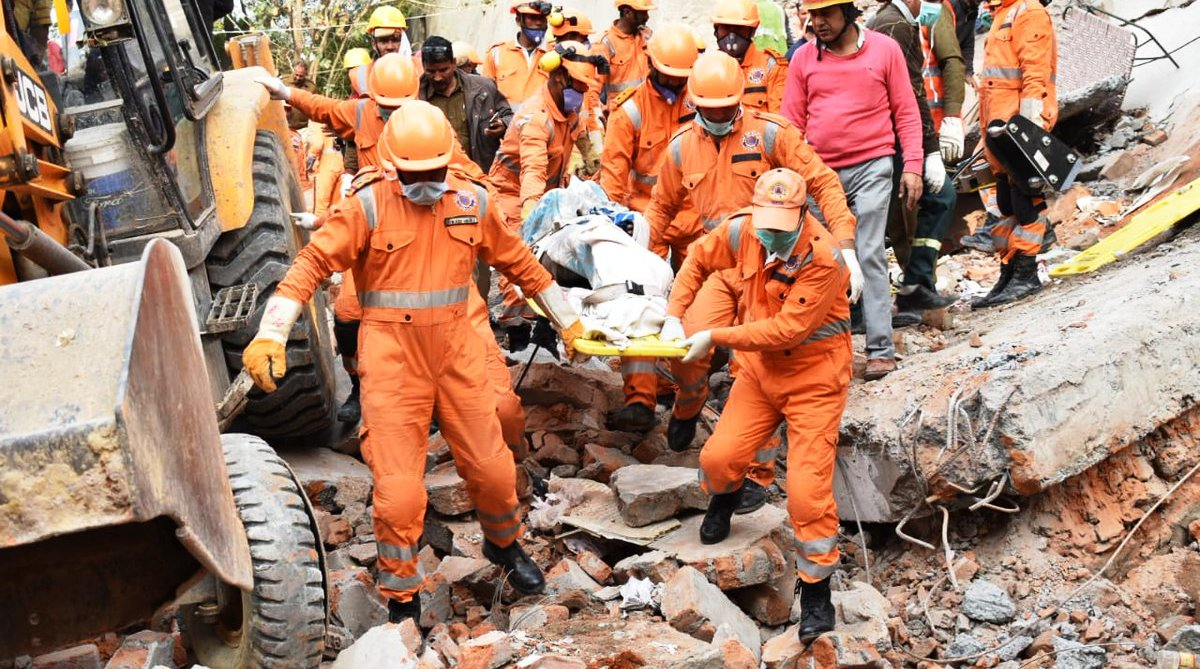 Gurgaon Building Collapse, Ullawas village, Gurugram Fire Department, Gurugram Police, National Disaster Response Force, NDRF, Manohar Lal Khattar