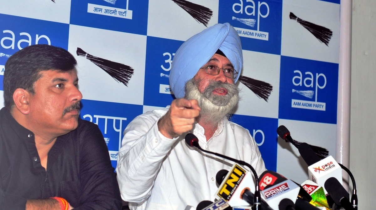 HS Phoolka resigns from AAP, Aam Aadmi Party, 1984 anti-Sikh riots cases, Arvind Kejriwal
