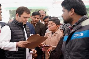 Day after Priyanka's appointment, Rahul tears into Modi in Amethi, says he doesn't lie like PM