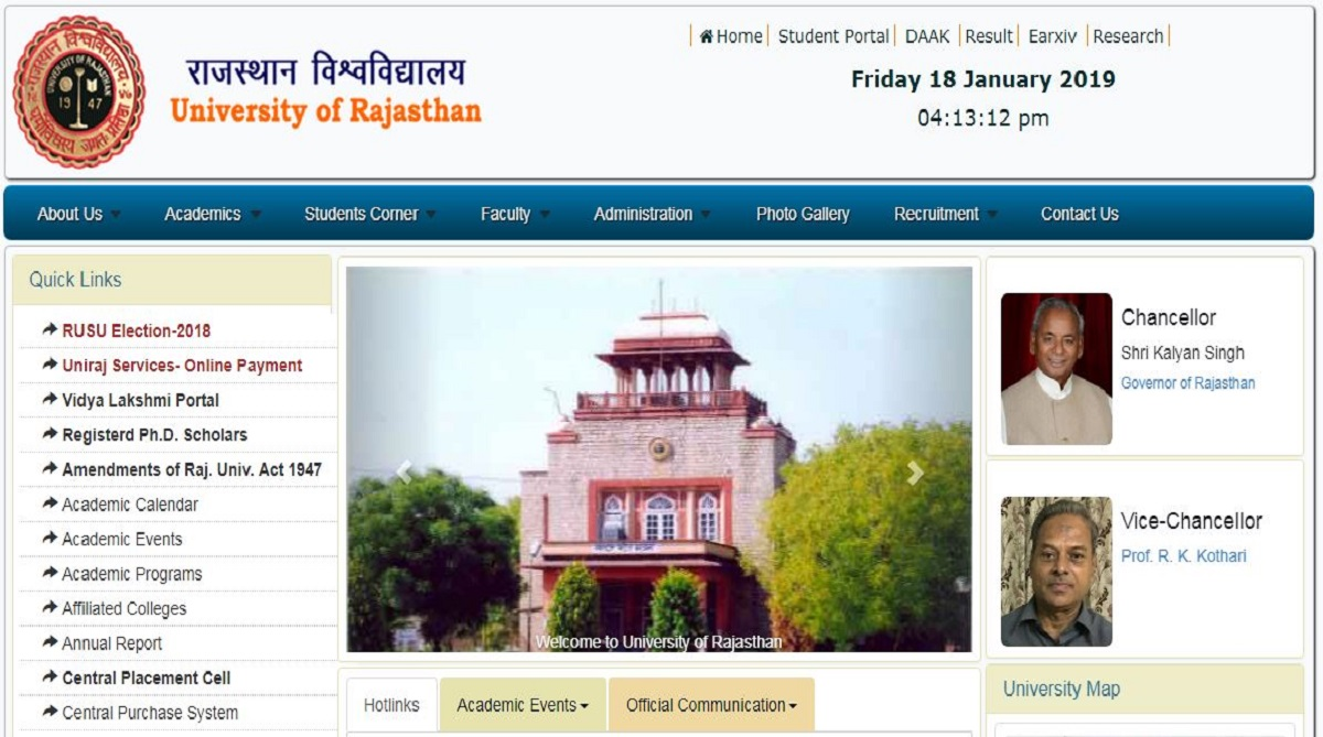 Rajasthan University UG results declared for various courses at uniraj.ac.in | Check steps to download here