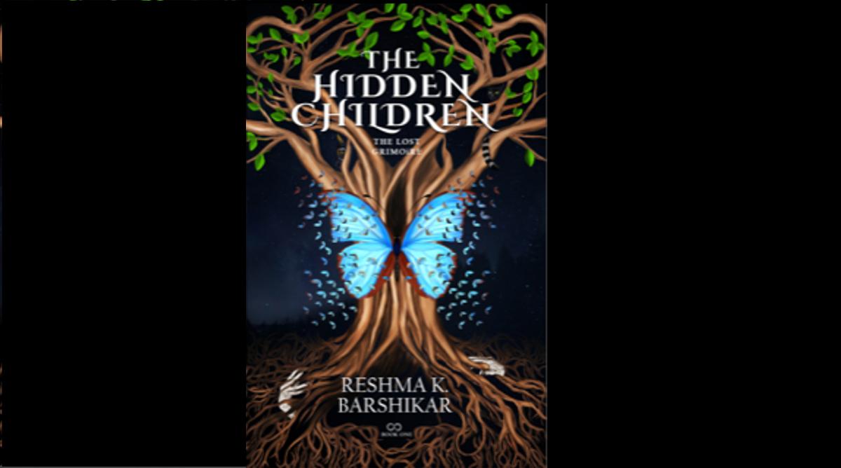 Reshma Krishnan, Amazon top 50 Children's bestseller list, The Hidden Children: The Lost Grimoire, YA novel, Young Adult Fiction, YA fantasy fiction