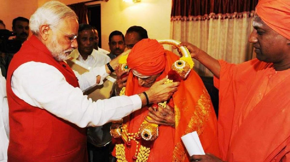 Lingayat seer Shivakumara Swami dead, Shivakumara Swami, Siddaganga Mutt, HD Kumaraswamy, Basava, Prime Minister Narendra Modi