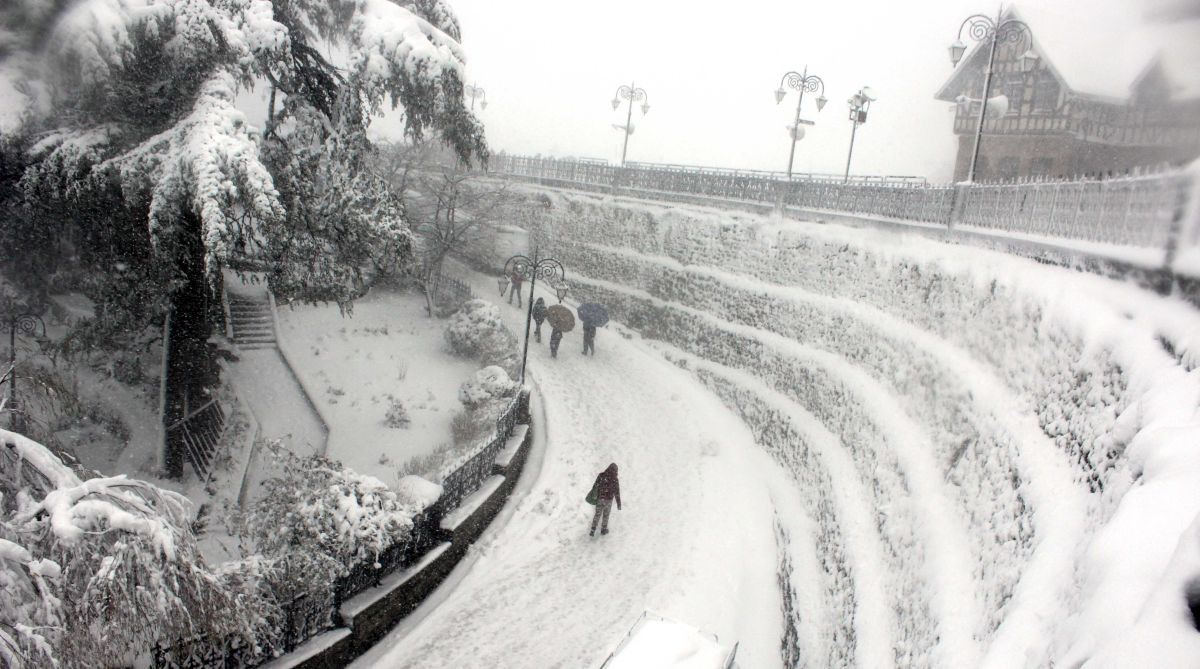 Himachal cold wave, heavy snowfall, Shimla snow, Manali snow, Himachal tourists, Met department, weather forecast, weather update