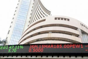 Sensex closes slightly higher as poll euphoria