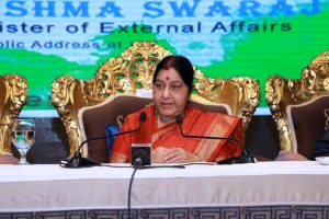 Sushma Swaraj to attend 1st India-Central Asia dialogue in Uzbekistan