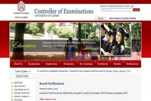 Jammu University declares first semester results for UG courses at coeju.com | Steps to view results here