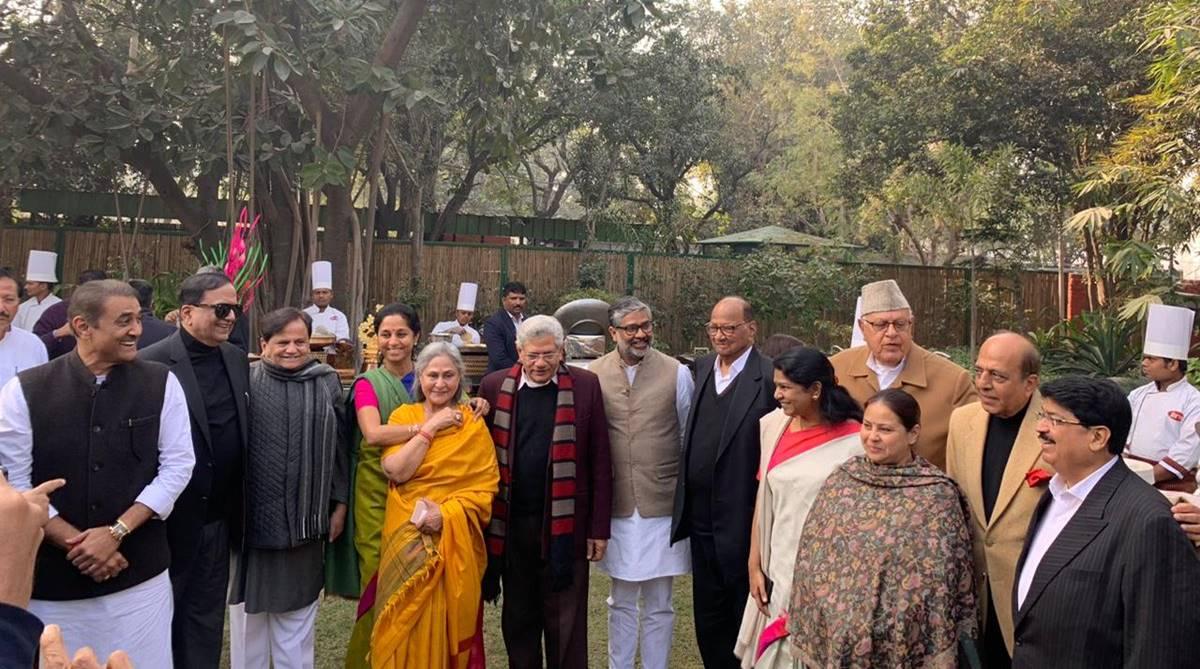 Annual winter lunch, Praful Patel, Sharad Pawar, Shivraj Singh Chauhan, Narendra Modi