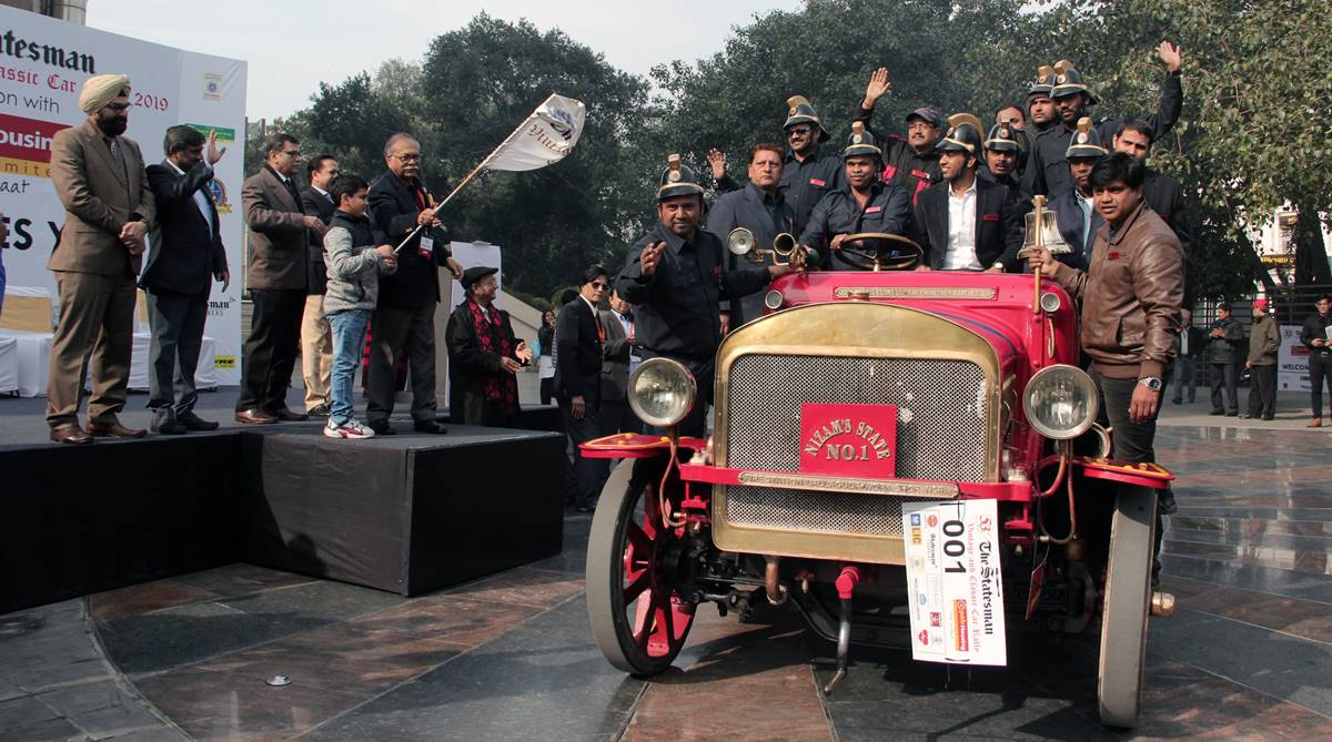 Statesman car rally, Statesman vintage and classic car rally, The Statesman, Statesman vintage car rally, Statesman classic car rally, Statesman House, RP Gupta, Ravinder Kumar,
