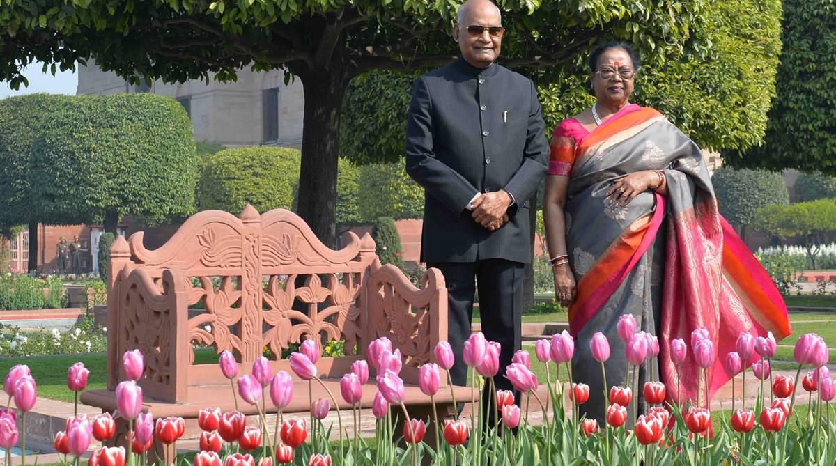 Mughal Gardens, Udyanotsav, Ram Nath Kovind, Rashtrapati Bhavan, Spiritual Garden, Herbal Garden, Bonsai Garden, Musical Garden, President's Estate