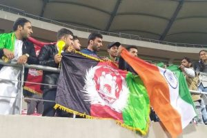 Afghan cricket fans chant anti-Pakistan slogans during Dehradun T-20I match
