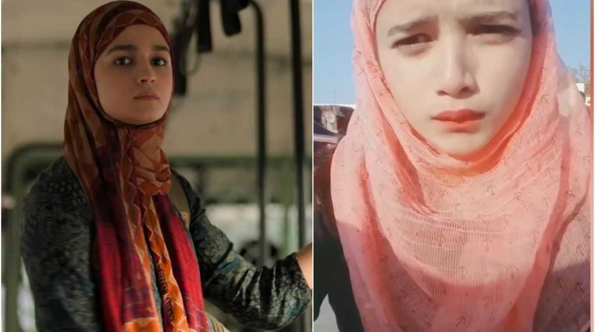 Alia Bhatt's doppelganger recreates Gully Boy's 'dhontungi' dialogue | See video