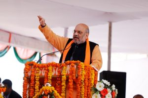 Make your stand on Ram Mandir clear: Amit Shah to Rahul Gandhi