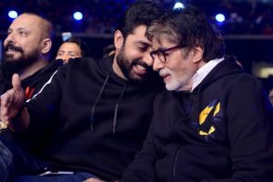 Amitabh Bachchan the film actor turns 50, Abhishek Bachchan shares a note for the 'icon'