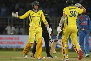 First T20I: Australia edge past India by three wickets in thrilling contest