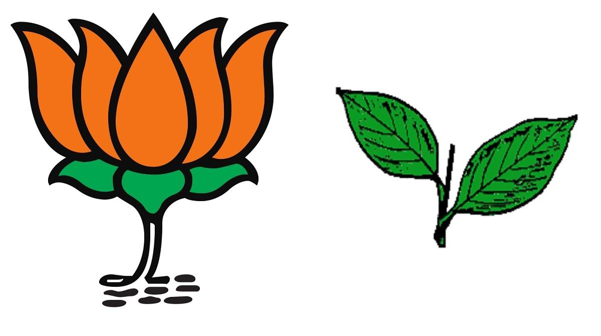 BJP AIADMK alliance logo