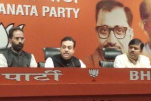 BJP takes 'criminals out on bail' jibe at Congress posters showing Rahul Gandhi, Robert Vadra