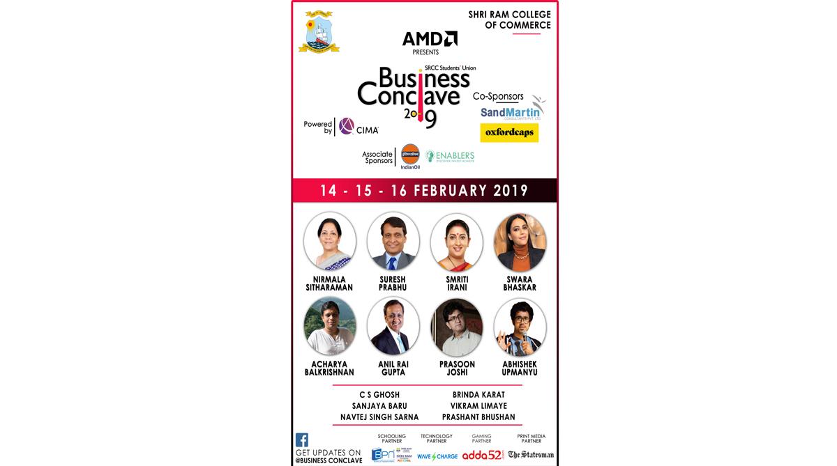 SRCC, SRCC Business Conclave 2019