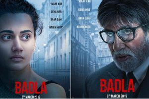Badla posters: Amitabh Bachchan, Taapsee Pannu looks will leave you intrigued