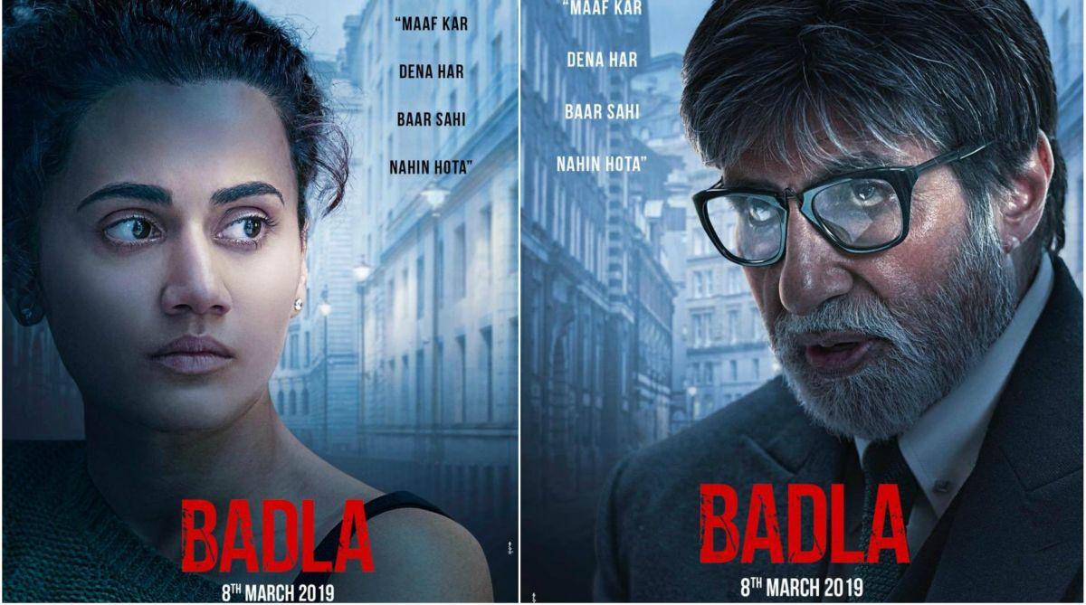 Amitabh Bachchan, Badla, Taapsee Pannu, Shah Rukh Khan, Sujoy Ghosh